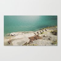 swim Canvas Prints featuring Swim by Tyler Forest-Hauser