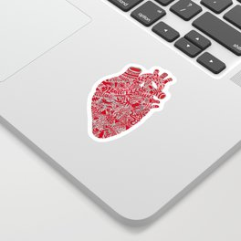 Lonely hearts Sticker