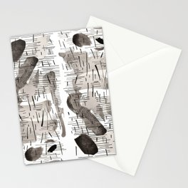 Rain all day Stationery Cards