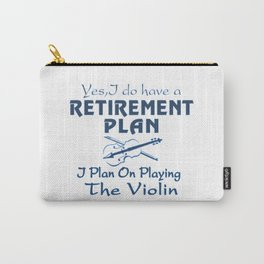 Plan on playing the Violin Carry-All Pouch