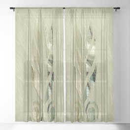 Wepwawet Sheer Curtain