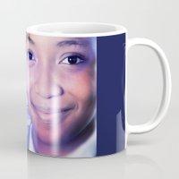 model Mugs featuring Model by Azeez Olayinka Gloriousclick