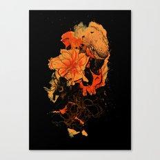 Pollination Dark Fire Canvas Print