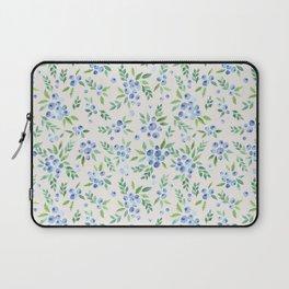 Blueberry Bushes Laptop Sleeve
