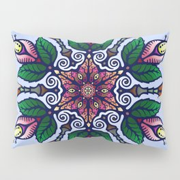 Flower Mandala 1 Pillow Sham