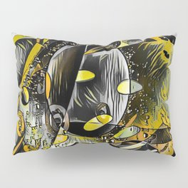 Sunshine Abstract Thoughts Pillow Sham