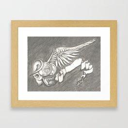 Horroroscopo Aries Framed Art Print