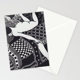 La Paresse Laziness Félix Vallotton 1896 Stationery Cards