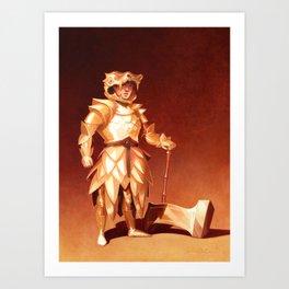 Camilla the Crusher Art Print