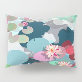 Aquatic garden Pillow Sham