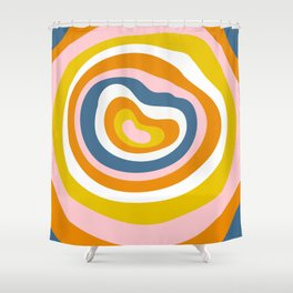 Antelope Canyon Stripes Shower Curtain