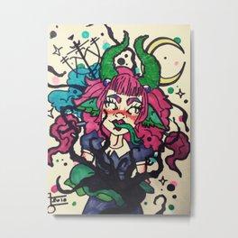 Sigil girl Metal Print