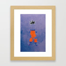Ultra Instinct Framed Art Print