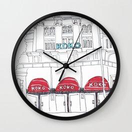 KOKO in London Wall Clock