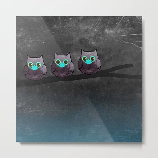 OWL-51 Metal Print
