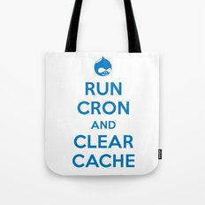 Run Cron and Clear Cache Tote Bag