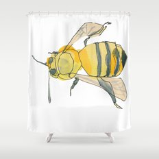 bee no. 2x2 Shower Curtain