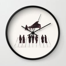 A Great Composition Wall Clock