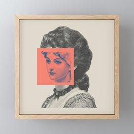Sunday Girl Framed Mini Art Print