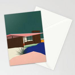 Edris House by E. Stewart Williams Stationery Cards