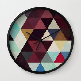 Cosmic abstract and colorful I Wall Clock
