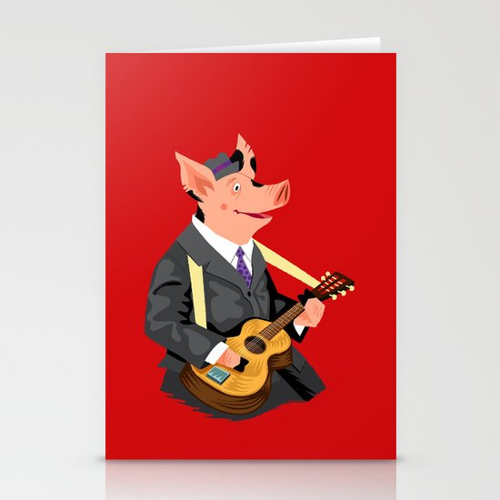 Smokey Hog Mcghee Stationery Cards
