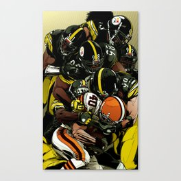 Stellers Defence Canvas Print