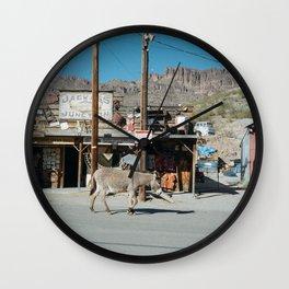 Jackass Junction Wall Clock