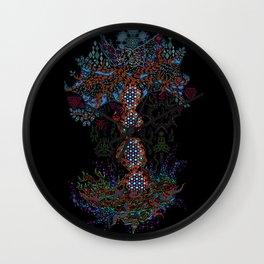 Psychedelic Yggdrasil World Tree of Life Wall Clock