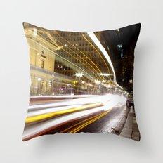 Portland Lights Throw Pillow