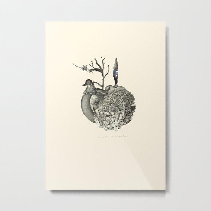 Lima. World. Metal Print