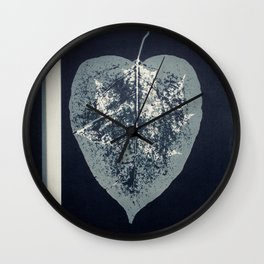 HERBARIUM. FORGOTTEN LEAVES. #13 Wall Clock