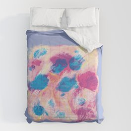 Colours of summer 1 -Abstract pattern Comforters