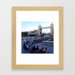 Square in London Framed Art Print