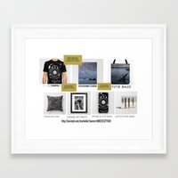 free shipping Framed Art Prints featuring Free Shipping by Mark Alder