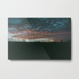 Altocumulus Sunrise Metal Print