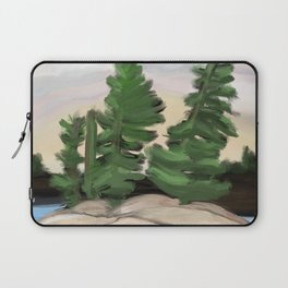 Georgian Bay Trees Laptop Sleeve