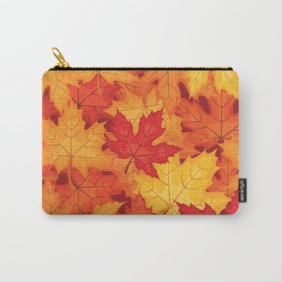 Autumn leaves #10 Carry-All Pouch