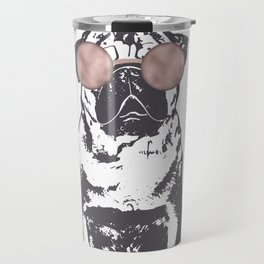 Hustle Pug Travel Mug