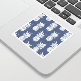 Pineapple Blues Sticker