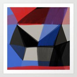 Squared Diamond 1 Art Print