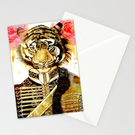 TIGRE MILITAR 1 Stationery Cards
