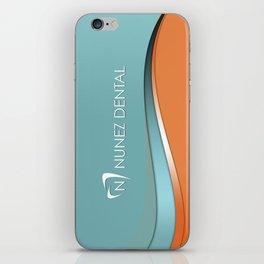 Nunez Dental Logo iPhone Skin