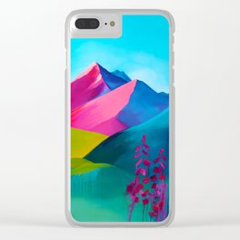 Bright Mountain Clear iPhone Case