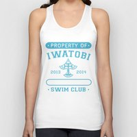 iwatobi Tank Tops featuring Free! Iwatobi Swim Club - Athletic  by Cup of June
