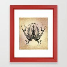 Tree Girl Series 1 Framed Art Print