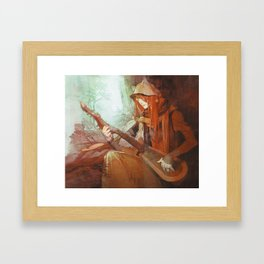 Shui Framed Art Print