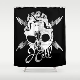 bwh Shower Curtain