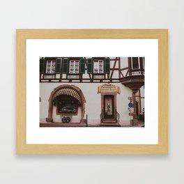 Boulangerie Framed Art Print