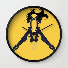 Laura Kinney Wall Clock